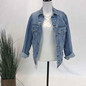 Brandy Melville Loose Fit Denim Jacket